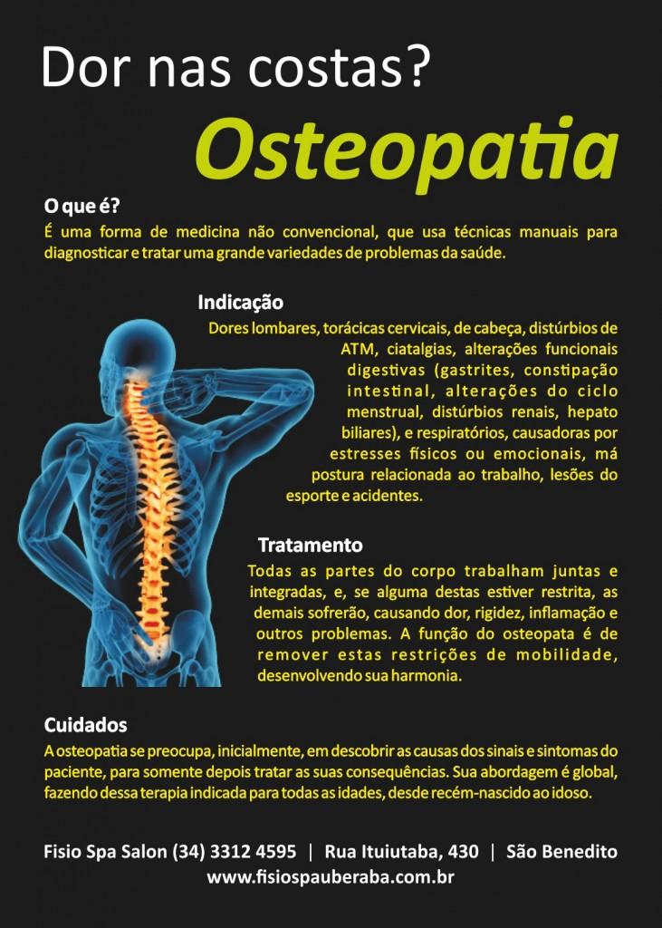 ~FisioSpa - Flyer Osteopatia